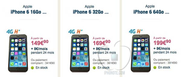 iphone 6 bouygues quel prix et quelle date. Black Bedroom Furniture Sets. Home Design Ideas