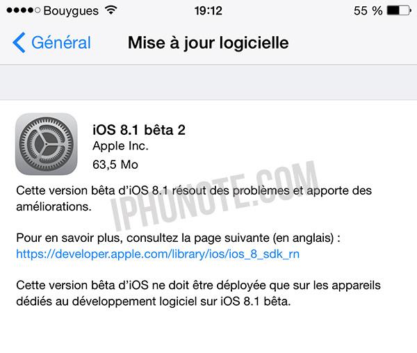 ios-8-1-beta-2-disponibles-pour-les-developpeurs