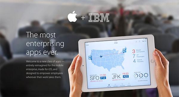 apple-et-ibm-proposent-leurs-premieres-applications-pour-les-professionnels
