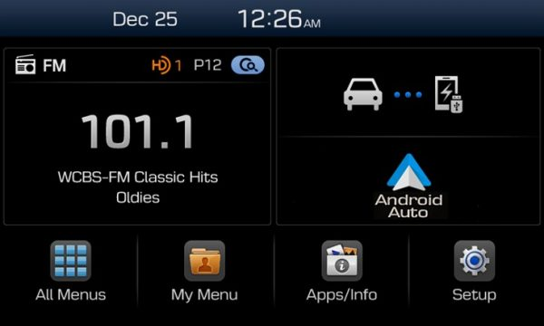 Android Auto integration on Hyundai's new Display Audio system