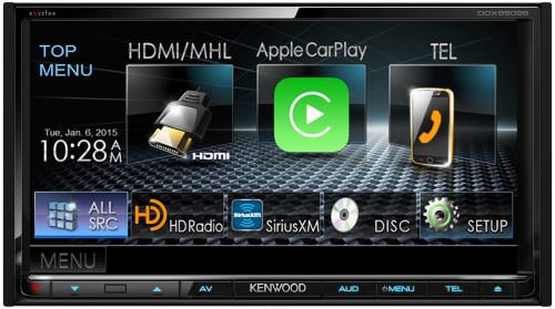 ces-2015-kenwood-presente-son-autoradio-compatible-avec-carplay