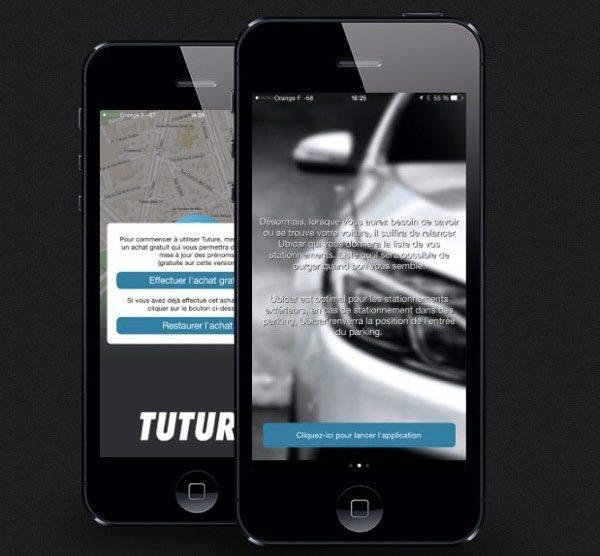 exclusif tuture une application qui vous rappelle l 39 emplacement de votre voiture. Black Bedroom Furniture Sets. Home Design Ideas