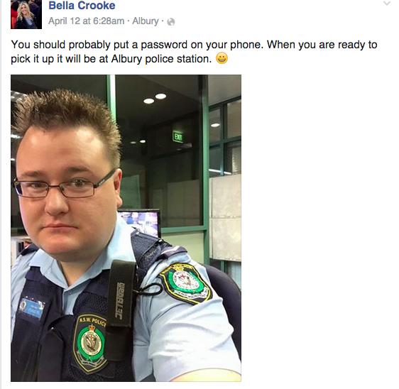 un-policier-australien-rappelle-via-facebook-les-mesures-de-securite-a-une-utilisatrice-qui-a-perdu-son-iphone