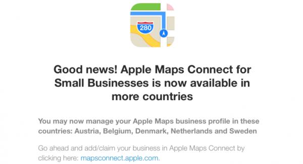 apple-ajoute-5-nouveaux-pays-a-maps-connect