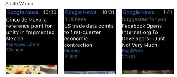 google-met-a-jour-son-app-actualites-et-meteo-pour-lapple-watch
