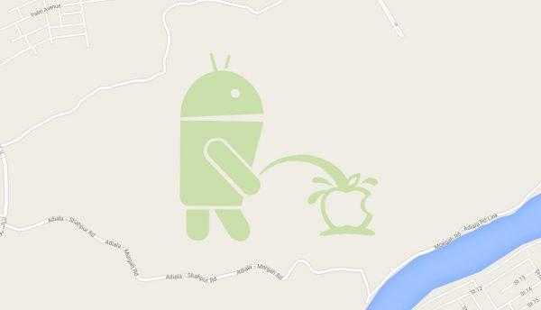 google-suspend-son-service-map-maker-suite-a-limage-dandroid-qui-fait-pipi-sur-apple