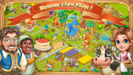 Farm-village