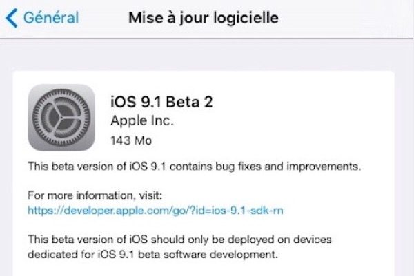ios-9-1-beta-2-et-ios-9-0-1-sont-disponibles-maintenant