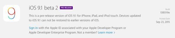 ios-9-1-beta-2-tous-les-liens-de-telechargements