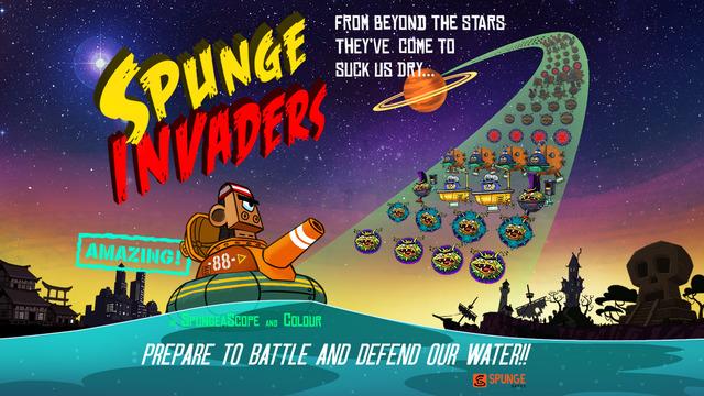 Spunge-Invaders