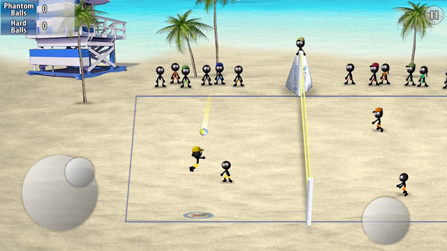 Stickman-Volleyball