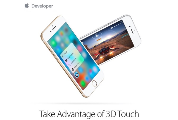 les nouvelles applications iphone 6s