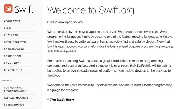 swift-le-langage-de-programmation-dapple-est-desormais-open-source