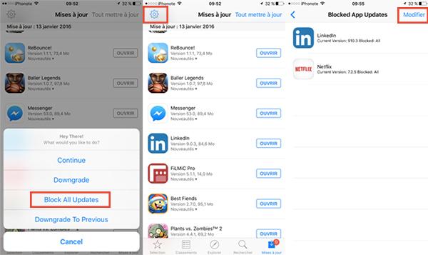 app admin permet maintenant de bloquer les mises jour de l 39 app store jailbreak ios 9. Black Bedroom Furniture Sets. Home Design Ideas