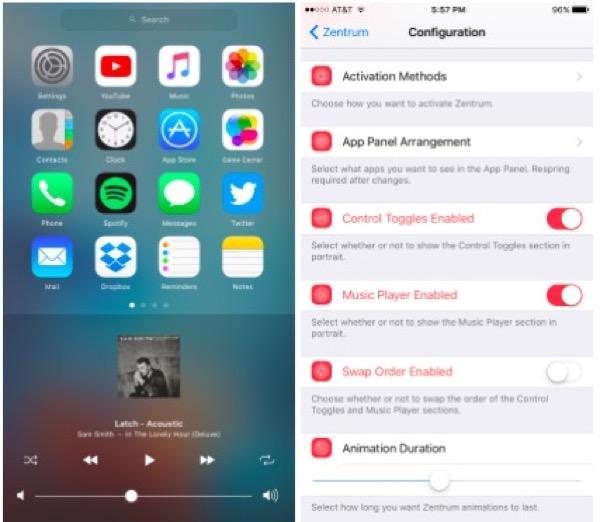 jailbreak-ios-9-zentrum-apporte-de-nouveaux-controles-au-multitache-apple-music-et-plus_2