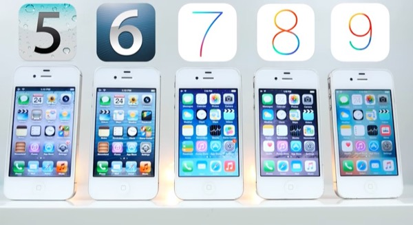 speed-test-iphone-4s-sous-ios-5-ios-6-ios-7-ios-8-ios-9-video