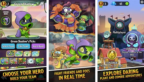 Ea annonce plants vs zombies heroes choisissez d 39 tre une for Plante zombie