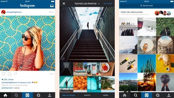 instagram augmente la dur e des vid os 60 secondes. Black Bedroom Furniture Sets. Home Design Ideas