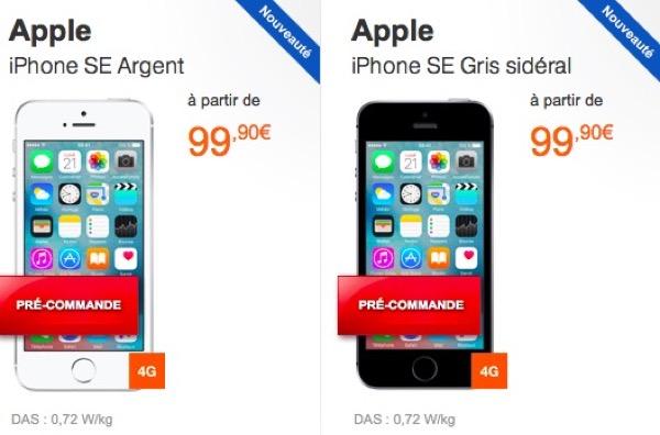 Iphone Se Abonnement Orange