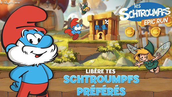 les-schtroumpfs-epic-run-disponible-maintenant-sur-apple-tv