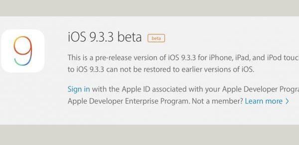 ios-9-3-3-beta-1-disponible-beta-testeurs