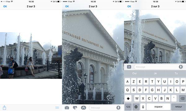 astuce-ios-10-afficher-photo-ecrire-meme-temps-lapp-messages