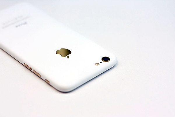 comment changer la couleur de l 39 iphone 6 et 6s plus en blanc mat. Black Bedroom Furniture Sets. Home Design Ideas