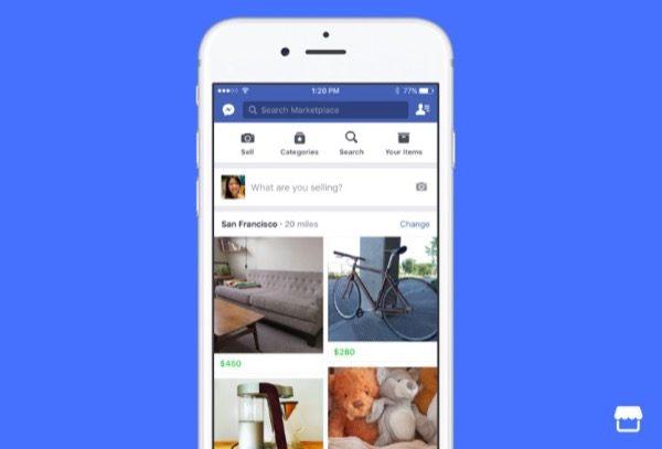 Le Marketplace De Facebook Rivalise Maintenant Avec