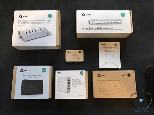accessoires-aukey-pour-macbook-pro-iphone