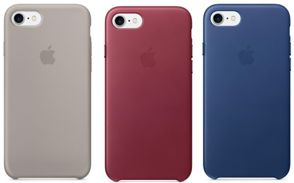 coques iphone 7 silicone apple