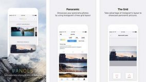 Apple vous offre l'app photo Panols depuis son application Apple Store
