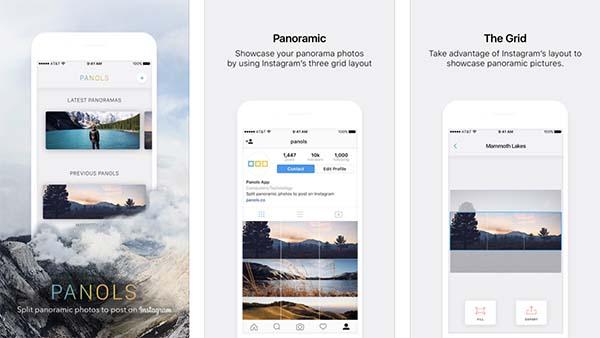 Apple vous offre l'app photo Panols depuis son application Apple Store