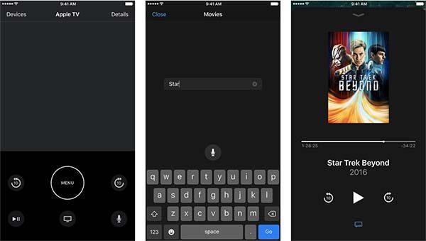 Apple TV Remote est maintenant disponible pour iPad