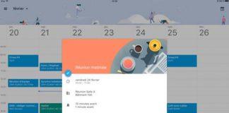 Google Agenda arrive enfin sur iPad