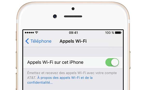 iOS 10.3 permet de passer des appels en Wi-Fi ou VoLTE