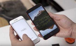 iPhone 7 Plus : une version rouge et noir avec Touch ID totalement fonctionnel