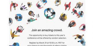WWDC 2017 : Apple a désormais ouvert les inscriptions à la loterie !