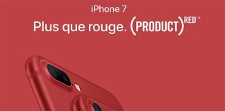 Les iPhone 7 & 7 Plus RED sont en vente chez Orange / Sosh, Bouygues / B&YOU, SFR / SFR RED