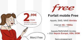 Offre Free mobile sur Vente-Privée