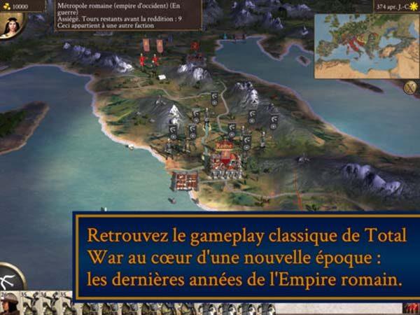 ROME: Total War - Barbarian Invasion débarque aujourd'hui sur iPad !
