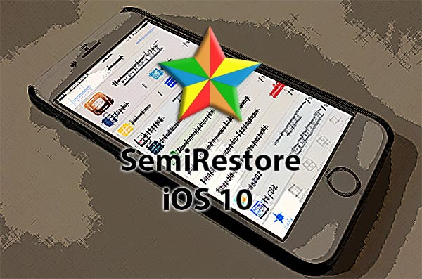 Comment restaurer iOS 10.2 sans perdre le jailbreak avec SemiRestore-Lite