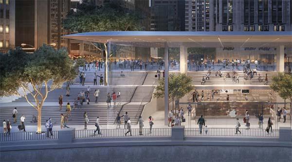 Voici à quoi ressemblera le nouvel Apple Store de Chicago !