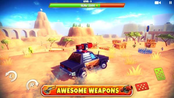 Nouveaux jeux iOS : Zombie Safari, Planescape: Torment, Blocky Castle et plus