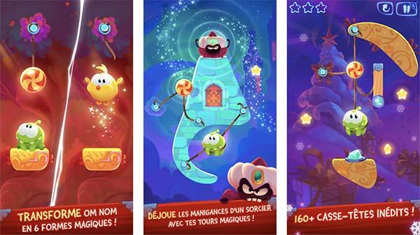 App de la semaine : Apple vous offre le jeu Cut the Rope: Magic !