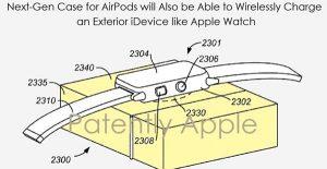 Apple brevette un boîtier étanche pour AirPods capable de recharger l'iPhone