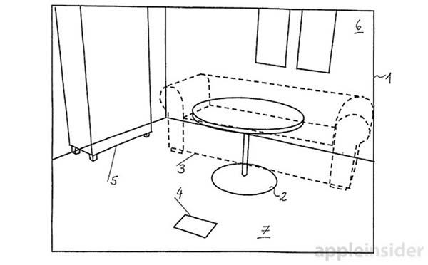 Apple brevette une fonction d'intégration d'objets virtuels dans des environnements réels