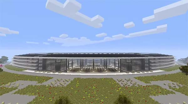 Apple Park : une version Minecraft du nouveau Campus Apple à découvrir en vidéo