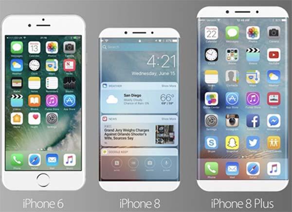 Apple : une commande de 70 millions d'écrans OLED pour son iPhone 8
