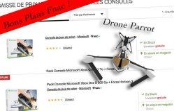 Bons Plans Fnac : MiniDrone Parrot Hydrofoil, XBOX ONE, Jeux de consoles !