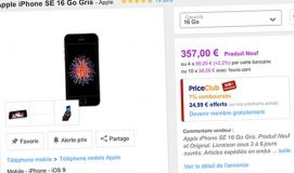 Bons Plans Priceminister : iPhone 6 64Go à 304€, iPhone SE 16Go à 357€ (+ bons d'achat)